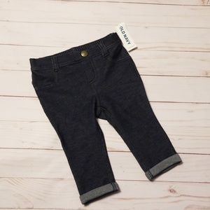 Old Navy denim look leggings